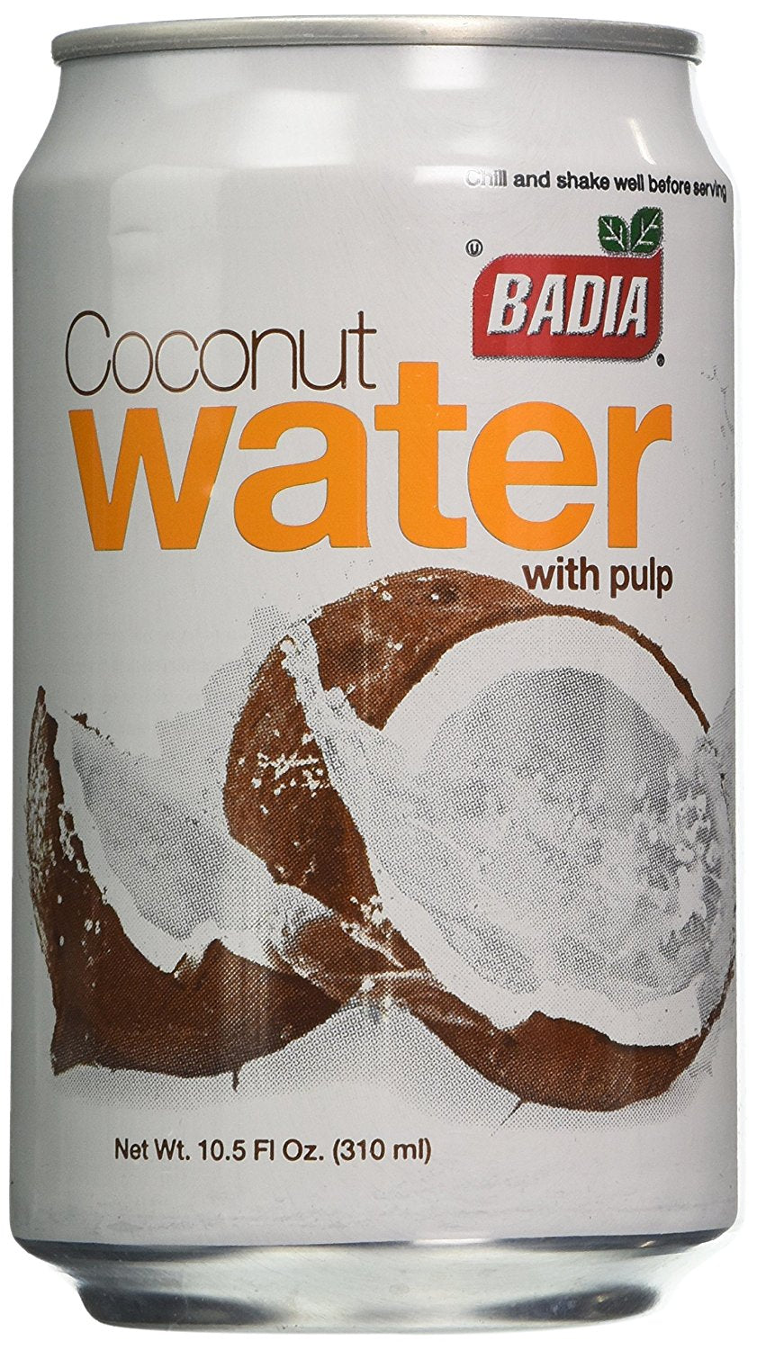 BADIA: Coconut Water with Pulp, 10.5 oz