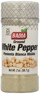BADIA: Ground White Pepper, 2 Oz