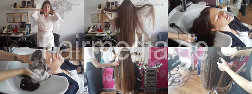 1023 2 Suza salon wash and curl 38 min video for download