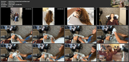 1060 Natia thick hair by Katia bwd wash 28 min HD video for download
