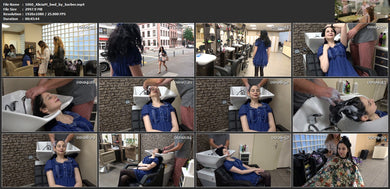 1060 AliciaM by barber shampooing 46 min HD video for download