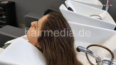 1146 ASMR Hair Care Hair Wash Head Massage Real Sound 14 min HD video for download