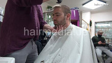Load image into Gallery viewer, 2012 20201209 xmas salon barber session by Nico 2 buzzcut