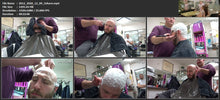 Load image into Gallery viewer, 2012 20201209 xmas salon barber session by Nico 5 Canan controlled headshave