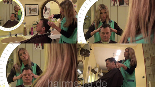 273 by Barberette KristinaB 3 pampering scalp massage 18 min HD-video for download