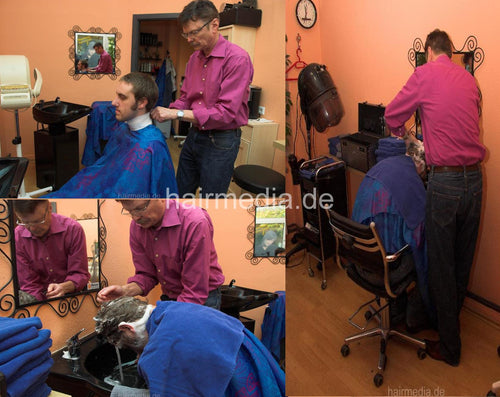 281 HS at barber 1 wash 7 min HD-video for download