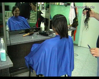8077 Ludmilla 2 cut haircut 51 min video for download