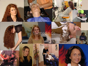 316 misc salon shampooing 2003, 5 models, 50 min video for download
