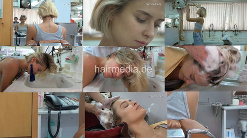359 YanaV 2xfwd 1xbwd wash by barber 45 min HD video for download