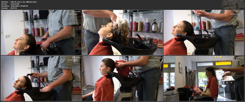 388 09 LeaS by old barber pampering bwd shampooing 28 min video for download