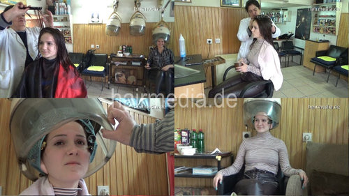 390 Tatjana wetset earprotected and haircut 12 min HD video for download