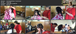 4114 Daniela nurse coloring, wetset haircut 15 min HD video for download