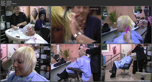 424 Schnittpunkthaare Sydney bleaching and haircut 20 min video for download