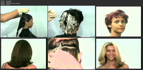 48 brazil 90s hairdressing 1 especially tint, coloring, bleaching pictures