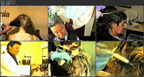 48 brazil 90s hairdressing 2 especially tint, coloring, bleaching pictures