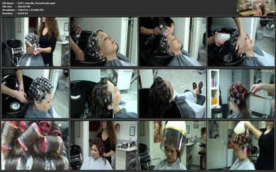 6197 Hairdream4you Fiorella perm and wetset 62 min video for download
