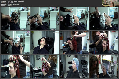 6197 Hairdream4you Jara Curlers Hairnet foamperm 40 min video for download