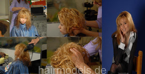 470 Julia and Soraya thick hair sisters shampoo session and bleaching