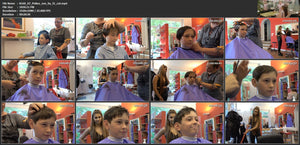 8160 07 young boy Zoy in Leatherpants controlled haircut  TRAILER