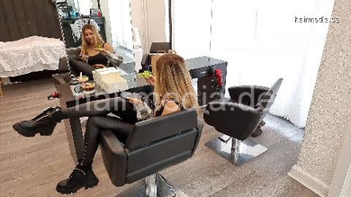 8200 Zoya being late in salon and have lunch there