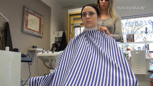 847 SaraG by Leonie drycut barbershop 22 min HD video for download