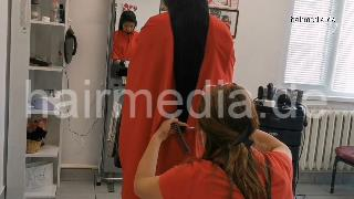 9093 22 Long Hair Philippines salon dry cut haircut and blow