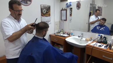2005 s1729 Dragoslav haircut, shave, strong shampoo fwd, 37 min HD video for download