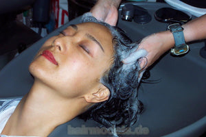 h016 Fei asian wash and haircut  35 min video for download