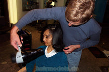 Load image into Gallery viewer, h016 Fei asian wash and haircut  35 min video for download