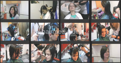 8057 Teen Monica 2 haircut, 13 min video for download