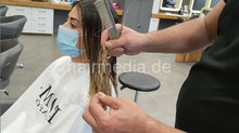 Load image into Gallery viewer, 1146 201226 Melis haircut 15 min HD video for download