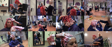9071 Kia by Fitore 4 fresh styled hair up 30 min HD video for download