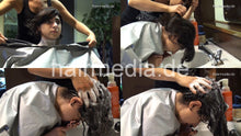 Load image into Gallery viewer, 8142 Mariam thick hair cut complete 105 min HD video for download