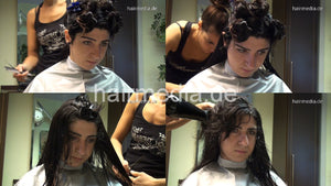8142 Mariam thick hair cut complete 105 min HD video for download