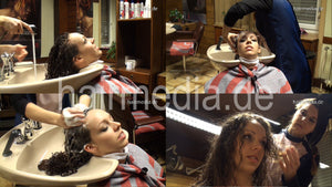 7073 Tea complete shampoo and perm 181 min HD video for download