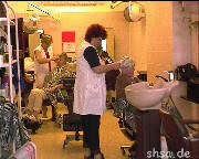 109 one day in old fashioned hairsalon 1998 Germany