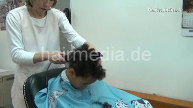 1136 Johan youngboy firm haircut cut and forward salon shampooing hairwash