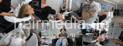 376 s1811 Julija by ValentinaDG 20 min shampooing video for download