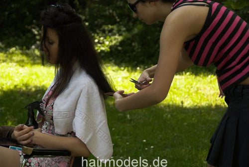 0008 AnjaS by NancyS outdoorcut 12 min video for download