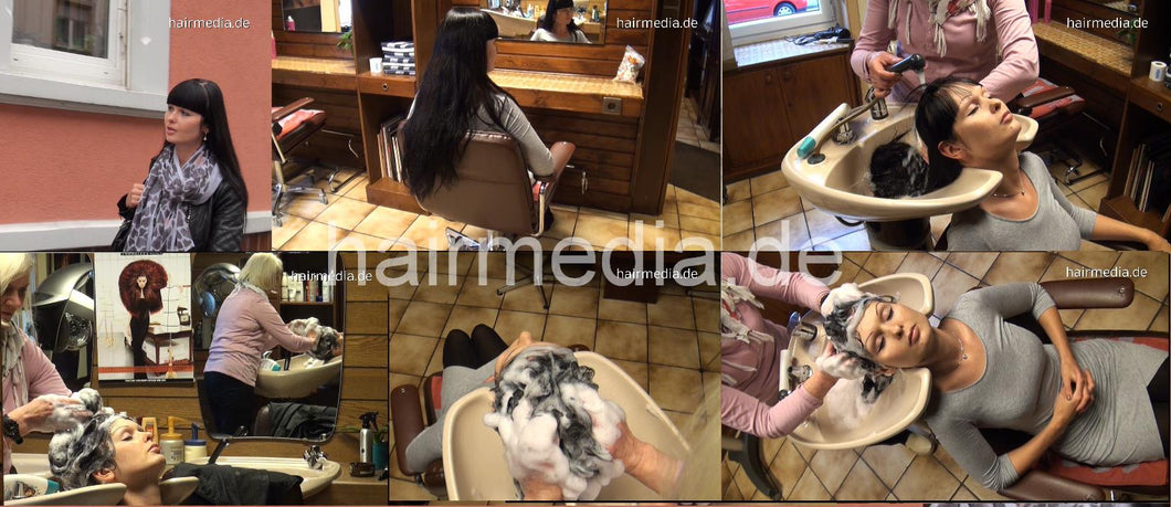6169 Mascha shampoo and set complete 122 min HD video for download