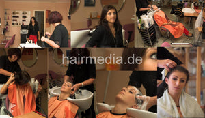 6074 Jowita pampering bwd shampooing 8 min HD Video for download