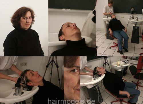 165 ChristianeW shampooing Hobbybarber Timo 130 sec video for download
