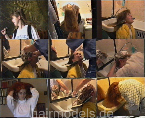 92 hairhunger classics ca 60 min video and 100 pictures for download