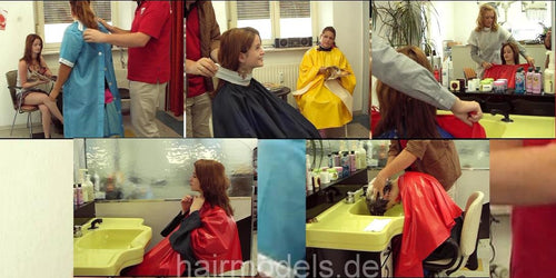 161 1 Kathrin Headwash 12 min video for download