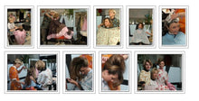Load image into Gallery viewer, 121 Flowerpower 2, Part 1 LauraB, shampooing in mobile sink backward at barberchair