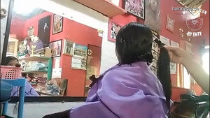 8600 06 extreme Makeover (Long to short haircut) - women haircut 9 min video for download