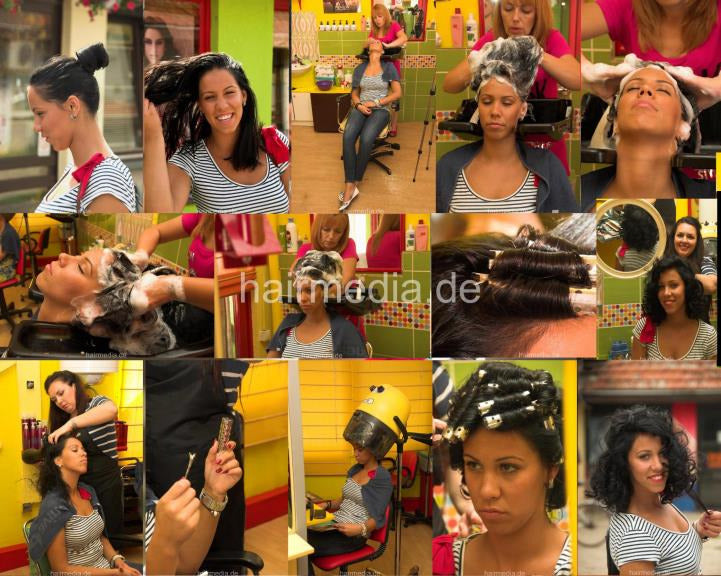 1109 IvanaS 2 pampering wash 21 min HD video for download