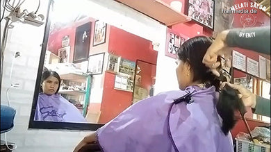 8600 03 Haircut By Chance - Beautiful girl's hair chopped 9 min video for download
