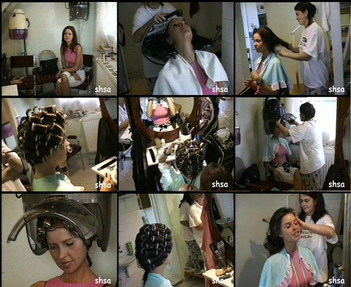 981 old fashioned shampoo and set 41 min video for download