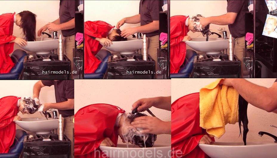 897 A-line shampooing forward by barber video for download cam 2